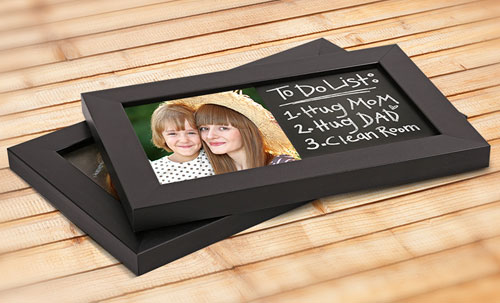 custom photo chalkboards