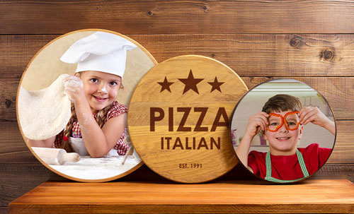 custom printed lazy susan